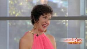 Bonnie Kurtz on WFAA Channel 8 in Dallas's Good Morning Texas