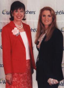 Bonnie Kurtz with the Duchess of York, Sarah Ferguson